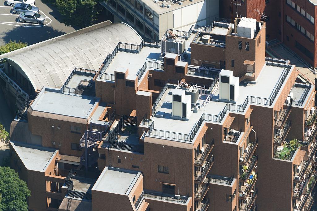 防犯カメラを屋上に設置するときの注意点